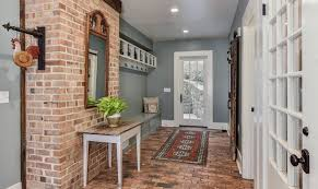 a bit of brick for the entryway from