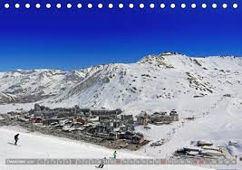 Tignes Val d Isère Tischkalender 2020 DIN A5 quer - Kalender bestellen