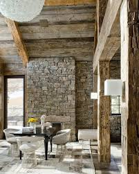 Rustic Modern Home Rustic Spaces And Ideas Pinterest Modern - Modern rustic dining roomodern style living room furniture