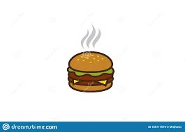 Burger Logo Design Free Creative Burger Logo Design Symbol Vector Illustration Stock