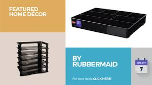 Rubbermaid Magazine Holder By Rubbermaid Featured Home Décor YouTube 86