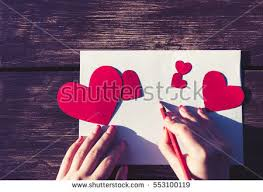 Girl Writes Love Letter Her Beloved Stock Photo (Royalty Free ...