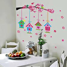 incredible design ideas wall decoration stickers new trends decor shabby bird house xy 1151 stan in sri lanka