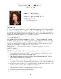 Resume Biography Sample Writing A Personal Bio Template Examples Enchanting Resume Bio