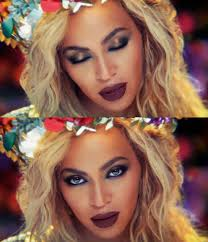 beyonce makeup hymn for the weekend 01