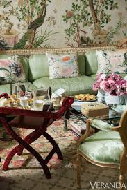Turquoise Sofa  Eclectic  Living RoomChinoiserie Living Room