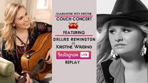 Kristine Wriding - Quarantine with Kristine – Couch Concert w ...