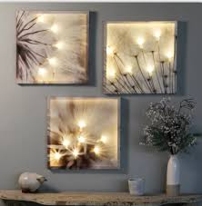 We would not recommend painting them a different color. Dandelion 3 Piece Multi Panel Floral Led Wall Art Home Wall Art Decor