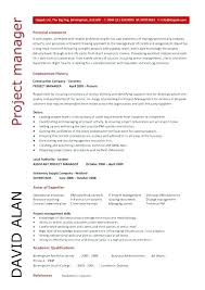 Download Manager Resumes Cv Example Senior Project Manager Resume Template For Free Download