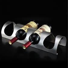 heavy duty stainless steel  bottles wine rack wall mounted bar