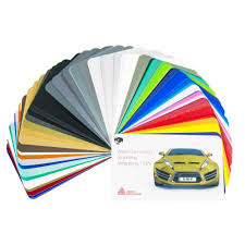 Avery Dennison Supreme Wrapping Film Swatch Book