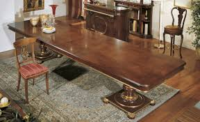 Inlaid Dining Table 10 Foot Dining Room Table 15204