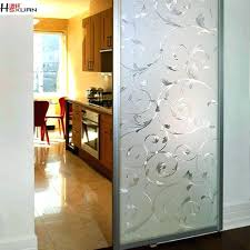 kitchen glass sliding door opaque glass sliding doors no glue electrostatic glass frosted glass sliding kitchen glass sliding door