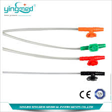 High Quality Suction Catheter Types Colour Codes With Ce Iso Buy