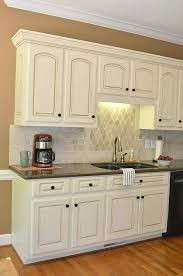 white glazed cabinets painting kitchen diy antique