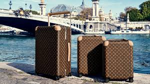 louis vuitton luggage. available in two different sizes (55 liters and 50 liters), the horizon by marc newson for louis vuitton line comes nine colorways, luggage