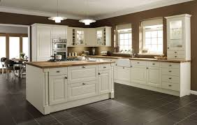 Antique Cream Colored Kitchen Cabinets Youtube Intended For Cream
