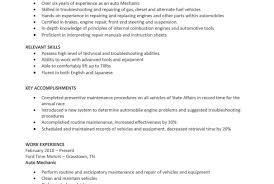 Sample Mechanic Resume Hvac Technician Resume Sample Automotive