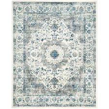 attractive blue gray area rugs evoke grey ivory evangelina blue gray area rug