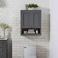 wall cabinet bathroom storage