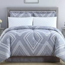 grey bed in a bag king size mainstays fl comforter bedding set sets queen full twin
