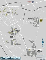 mohenjo daro travel guide at wikivoyage detailed map of mohenjo daro