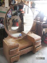 16 amazing vanity makeovers from art deco to antique a must see by prodigal