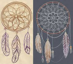 Dream Catcher Patterns Meanings Gorgeous Fantastic Feather Embroidery Designs