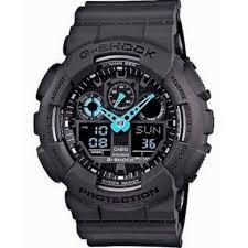 casio g shock ga 100c 8a mens watch black blue shipping casio g shock ga 100c 8a mens watch black blue