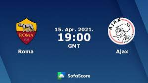 Roma Ajax live score, video stream and H2H results - SofaScore