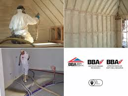 spray foam insulation for roofs walls and floors