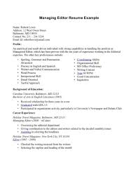 Editor Resume Sample Photo Editor Resume Examples Sample Templates Cover Letter Freelance 16