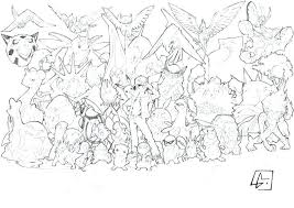 Pokemon Color Pages Printable Coloring Sheets Printable Legendary