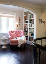 comfy reading chair this bright pink comfy reading chair brings some cheer to this small book comfy reading chair