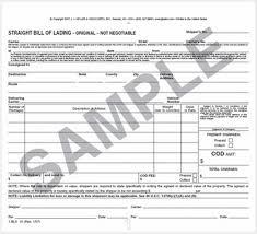 bill of lading trucking straight form bill of lading gratulfata