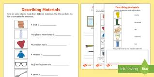 The free chemistry worksheets from matchcard science provide easy ways to teach chemistry to kids. Hard And Soft Materials Cut And Paste Sorting Activity Sorting
