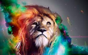 1600x1200 Lion Abstract 4k 1600x1200 ...