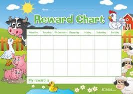 Reward Chart Farm Animals Ichild