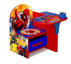 photo 6 of 6 com delta enterprise spiderman chair desk with storage bin toys