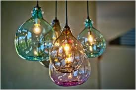 recycled glass lighting. Jug Lamps By Cisco (hand-blown From Recycled Glass)- Look Amazing On Glass Lighting O
