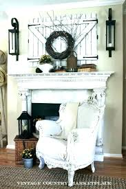 decorating a fireplace simple wall decor above fireplace