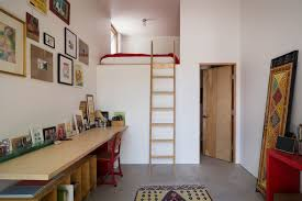built in wall bunk beds