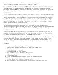 Free Graphic Designer Job Cover Letter Templates At