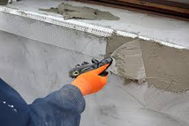install a concrete wall