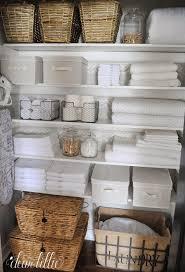 bathroom smart bathroom storage containers fresh linen closet storage options wicker baskets canvas bins wire