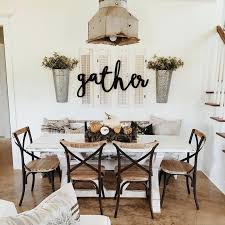 metal wall art for dining room