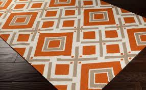 orange area rug burnt and white trellis with swirls roselawnlutheran turquoise kitchen rugs bright black circle
