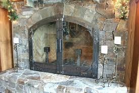 installing glass fireplace doors s installing glass doors on gas fireplace