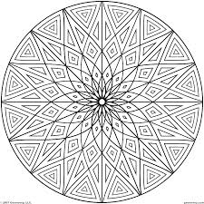 Geometric Patterns Coloring Pages Cool Pattern Coloring Pages