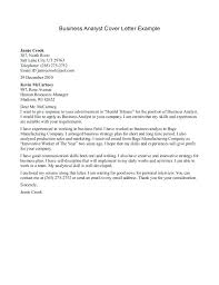 Bakery Manager Cover Letter Ideas Of Business Plan Cover Letter ...